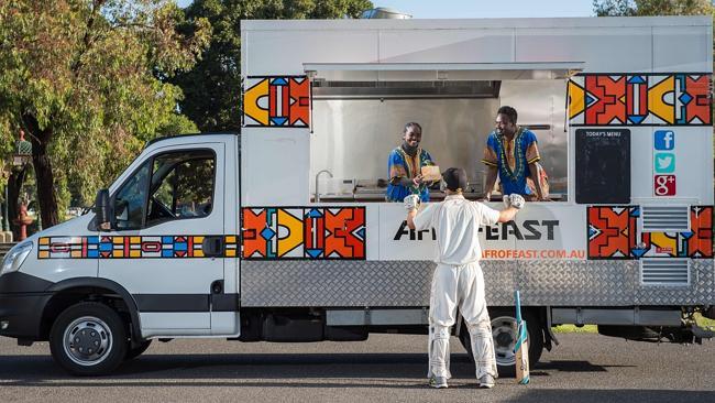 Mobile Panel Van Food Truck