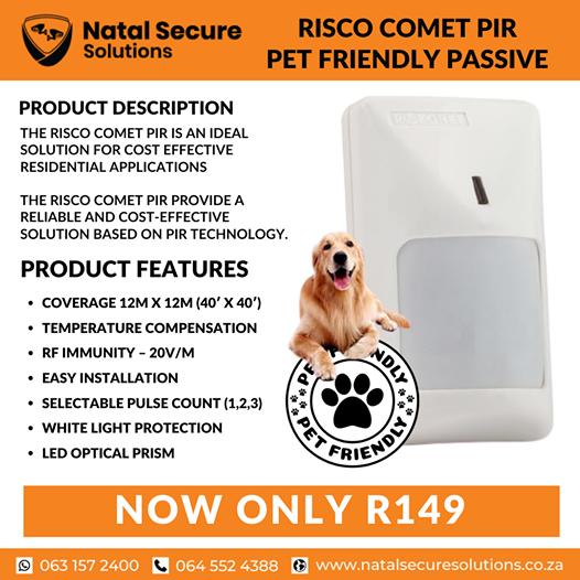 Risco Comet pet friendly passives