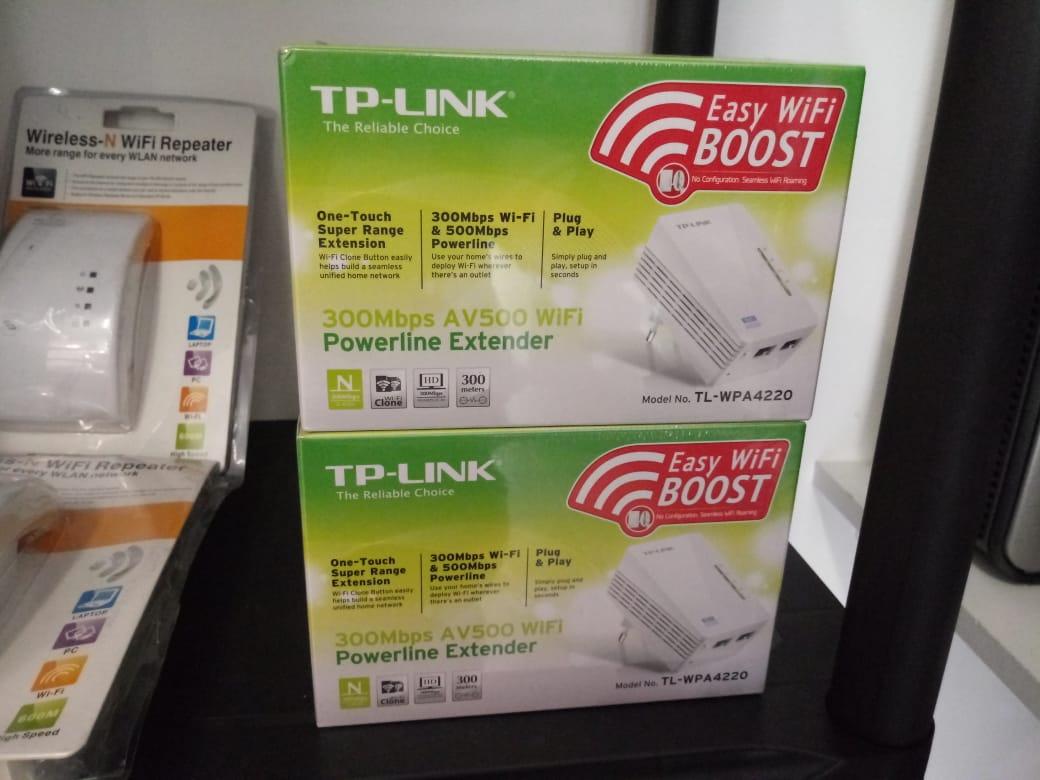 Save Now: Wi-Fi Powerline Extender Starter Kit – 300Mbps AV200