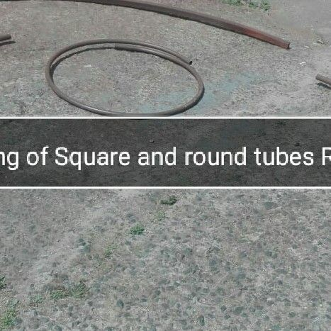 Bending of round and square tubes