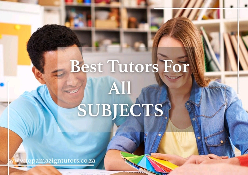 Primary, High School & Tertiary Tutors Available In All Gauteng