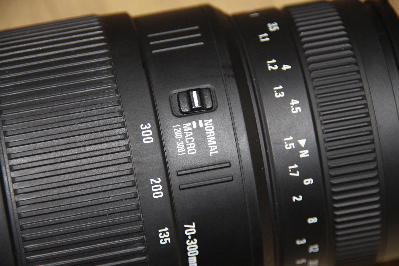 Sigma 70-300mm lens 1:4-5.6 for Nikon SLR cameras