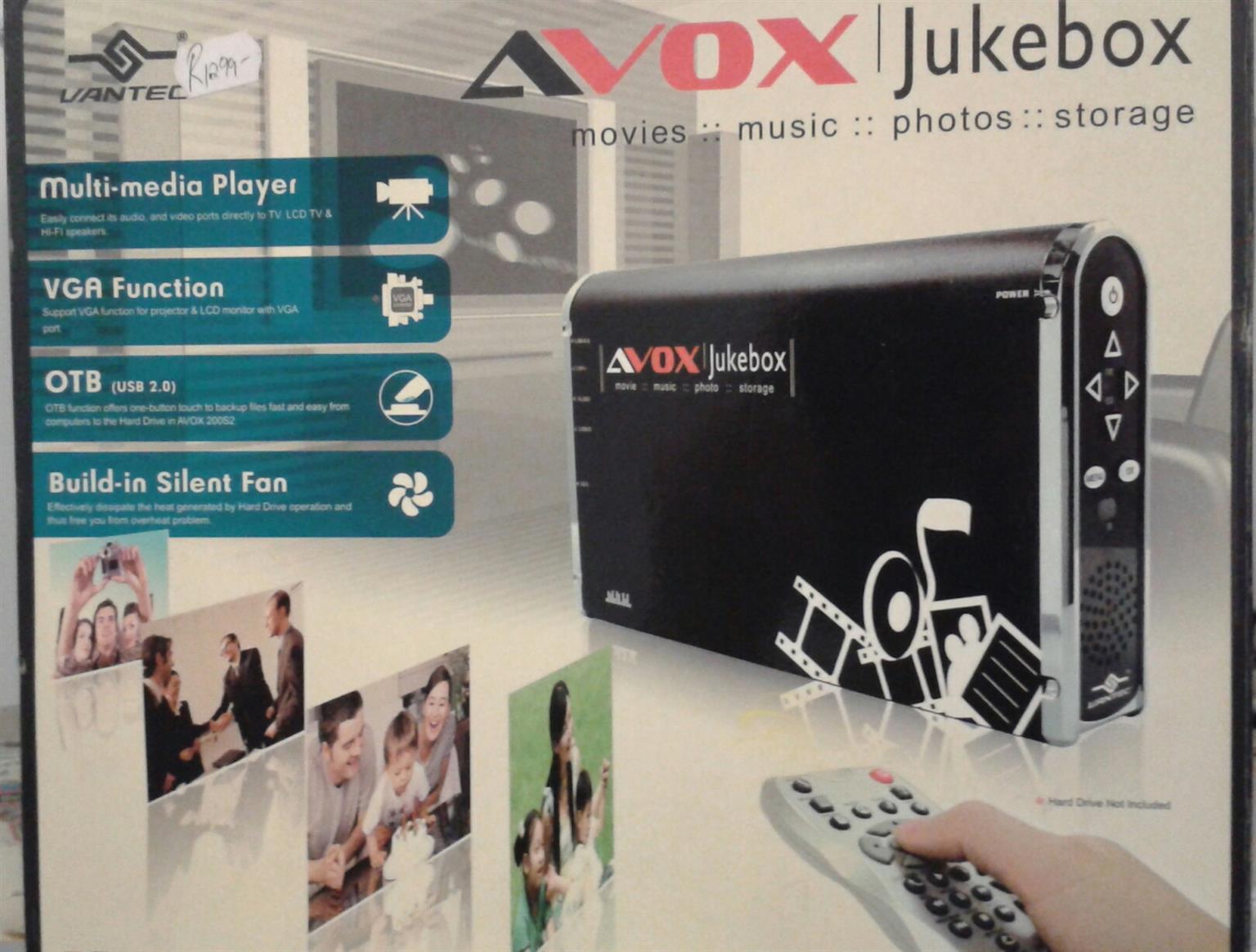 JukeBox A/V/USB
