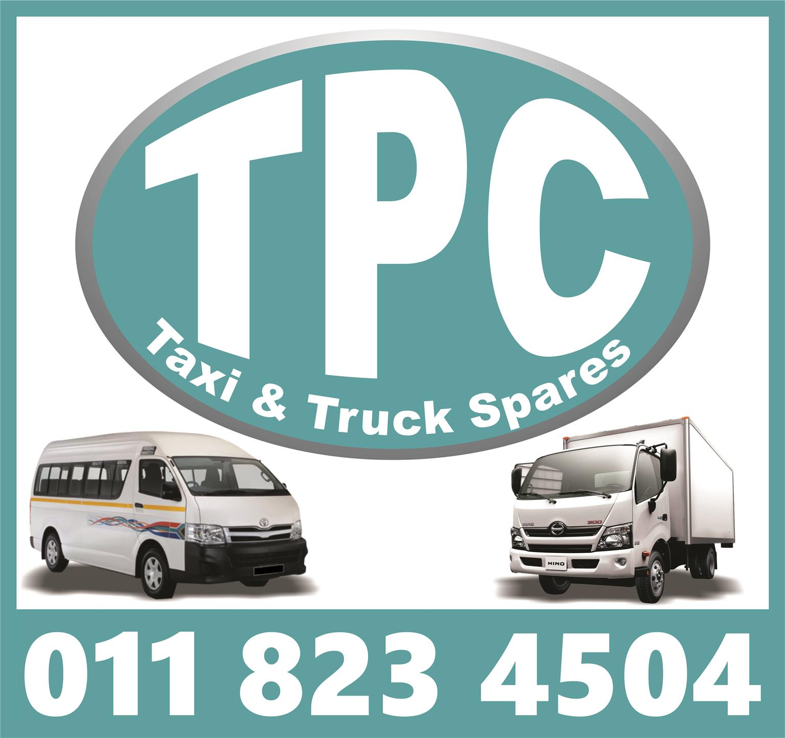 Visit TPC For All Your Various New And Used Taxi Replacement Parts - Engines, Gearboxes, Diff, Body Parts And More!