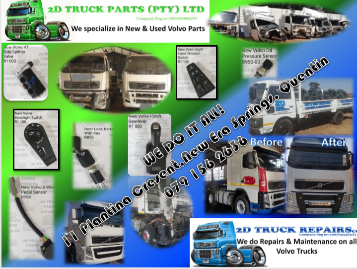 USED VOLVO TRUCK PARTS