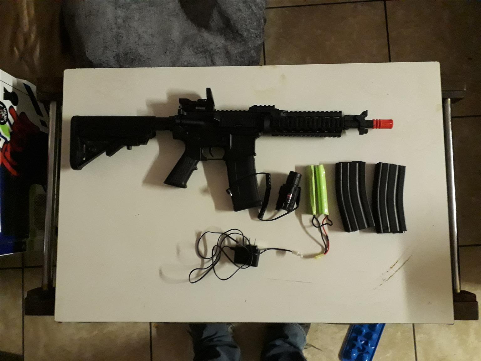 Airsoft M4 Tippmann rifle