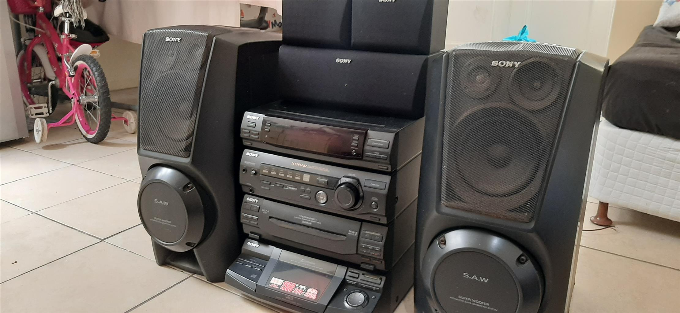 Sony HiFi theatre system
