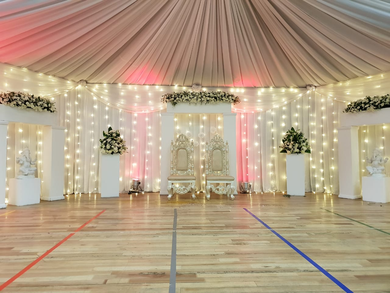 Fairylights and uplights for hire