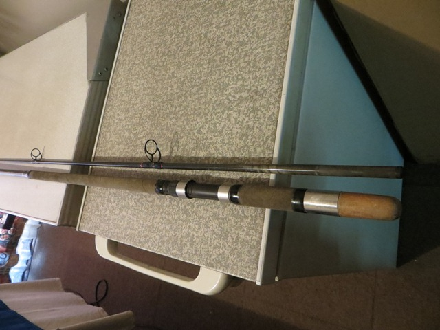 Custom build light tackle fishing rod