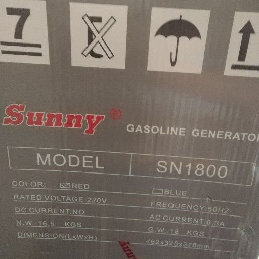 sunny sn1800 generator for sale