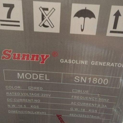 sunny sn1800 generator for sale