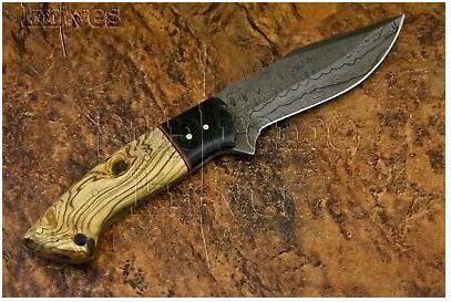 R500 off Handmade Damascus Steel Hunting Knife 22.85 cm