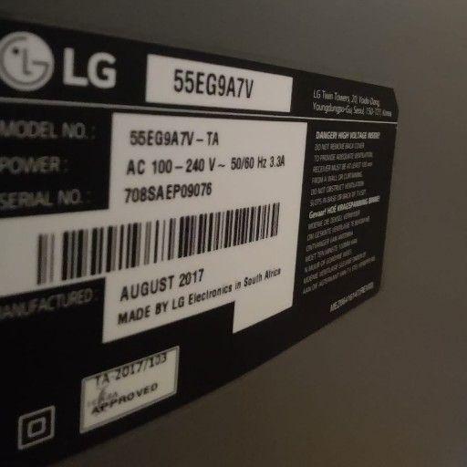 Lg oled 55 inch smart tvModel no 55EG9A7V