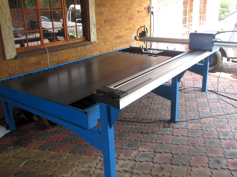 P-1325P MetalWise Lite CNC Plasma/Flame Dry/Water Cutting Table 1300x2500mm, Stepper Motor