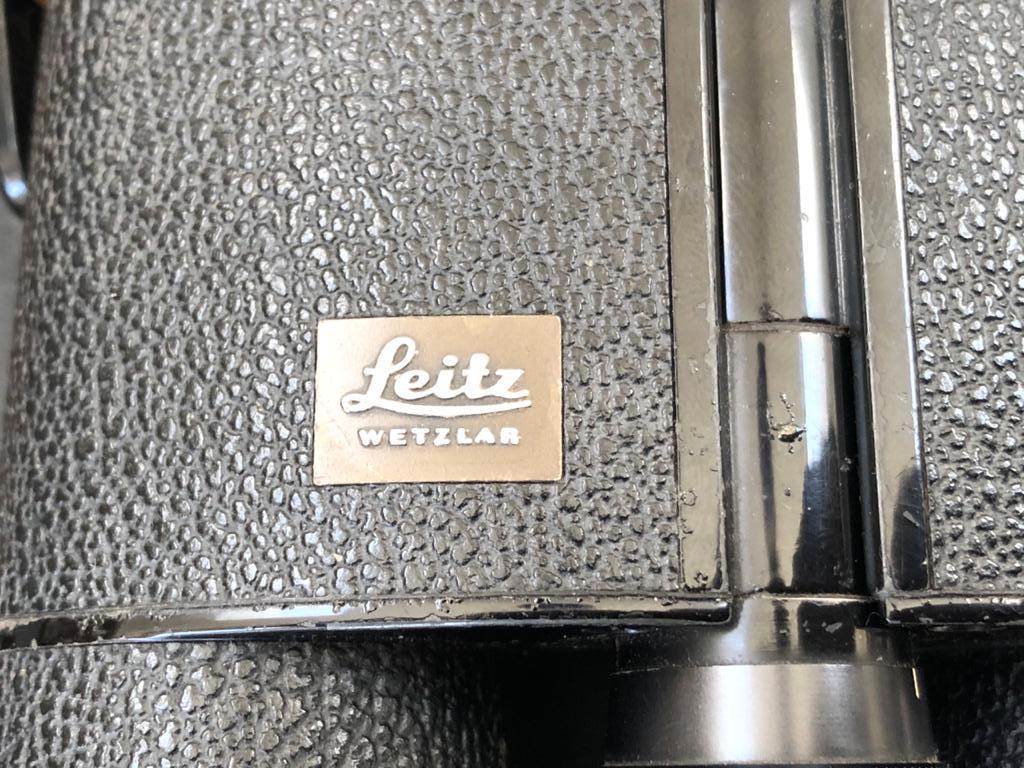 Leitz Wetzlar Germany Trinovid 10x40B Binoculars wtih original leather carry case