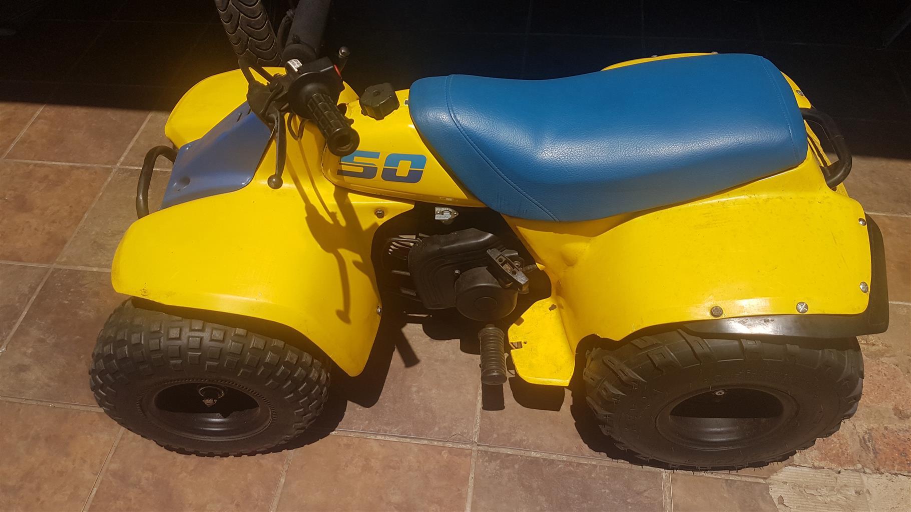 1990 Suzuki AN125