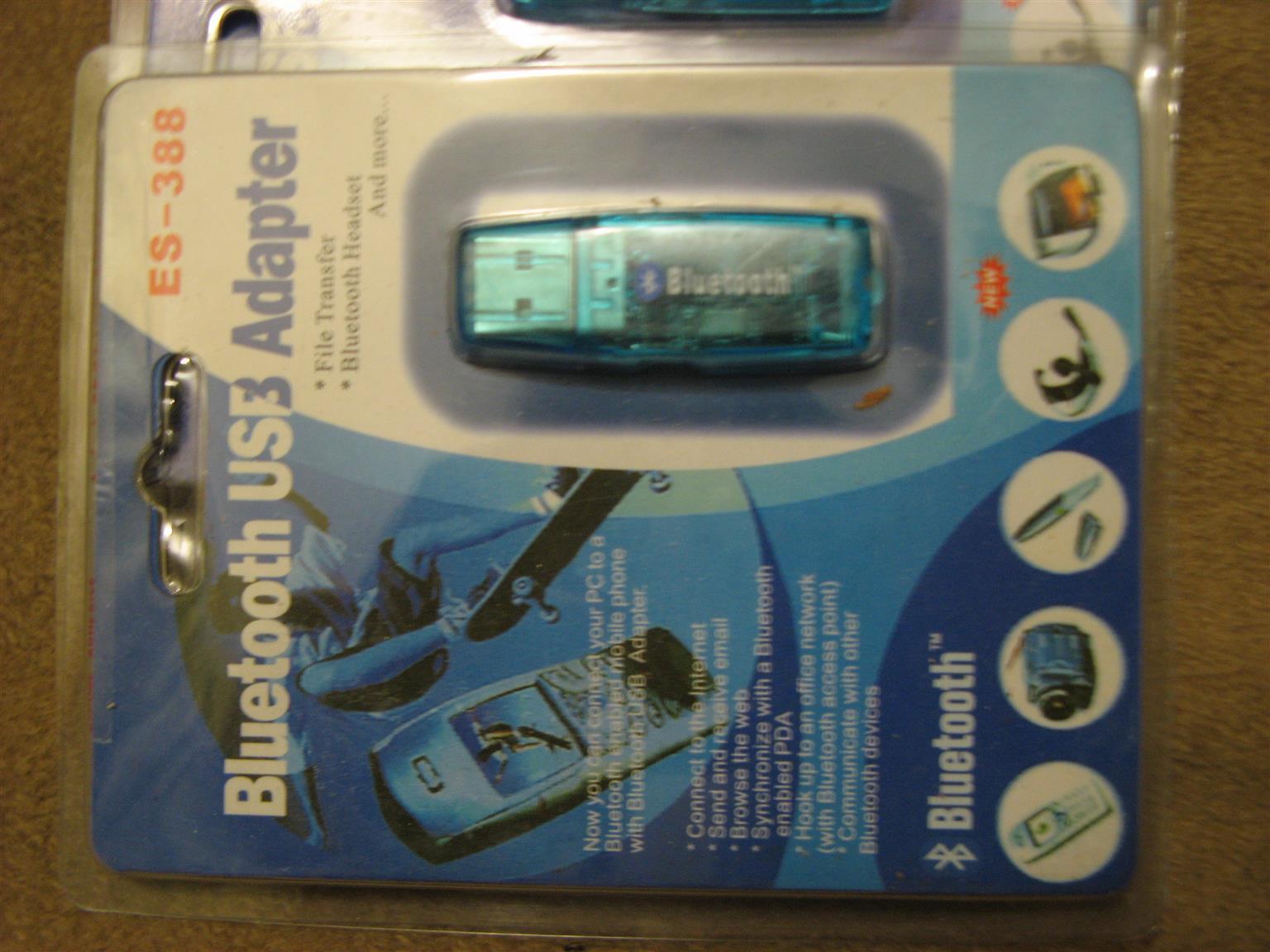 Bluetooth USB adapters