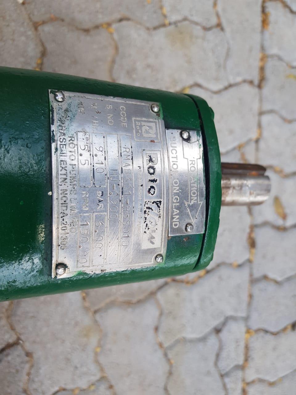 Mono Type Pumps - Roto Pump