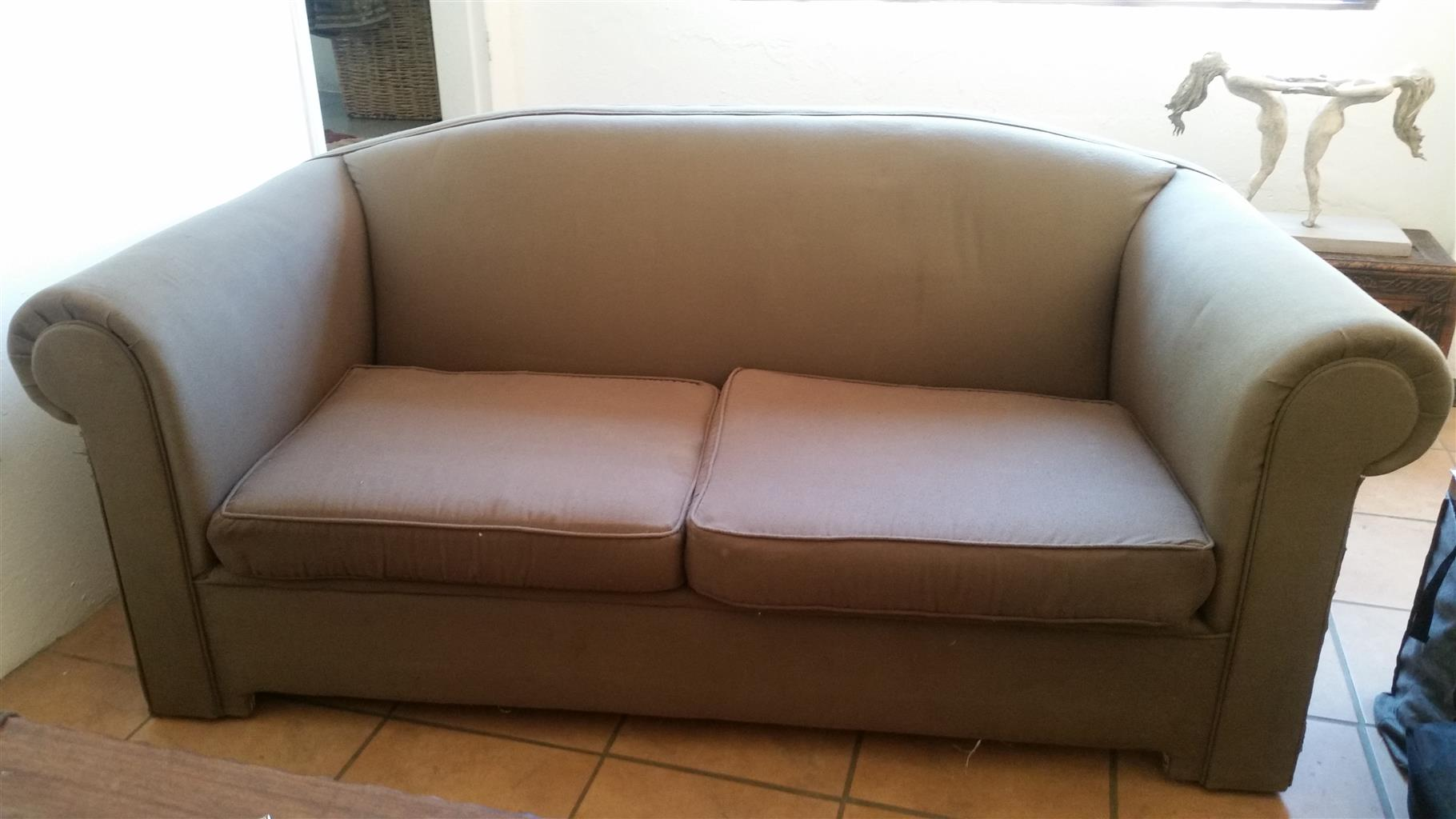 2 x 2-SEATER COUCHES