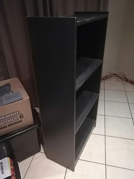3 Tier dark wooden shelf for sale