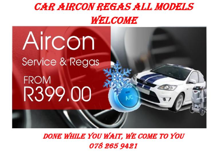 Car Aircon Regas R400