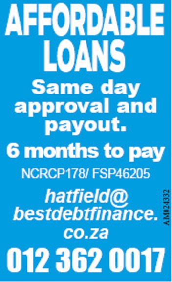 """LOANS – EASY AND AFFORDABLE"""