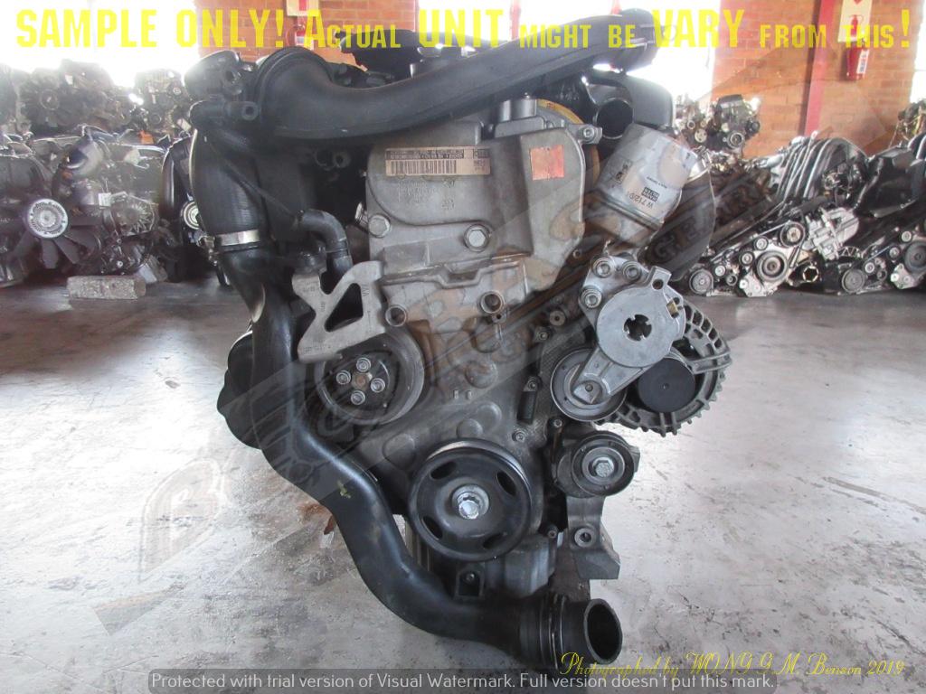 VOLKSWAGEN CTH 1.4L TFSI DOHC 16V Engine -JETTA 6