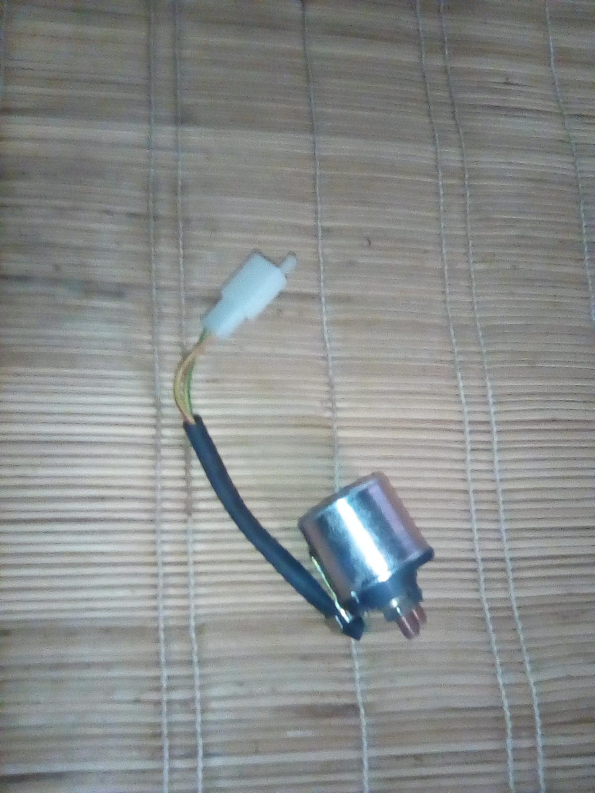 Starter solenoid/starter relay