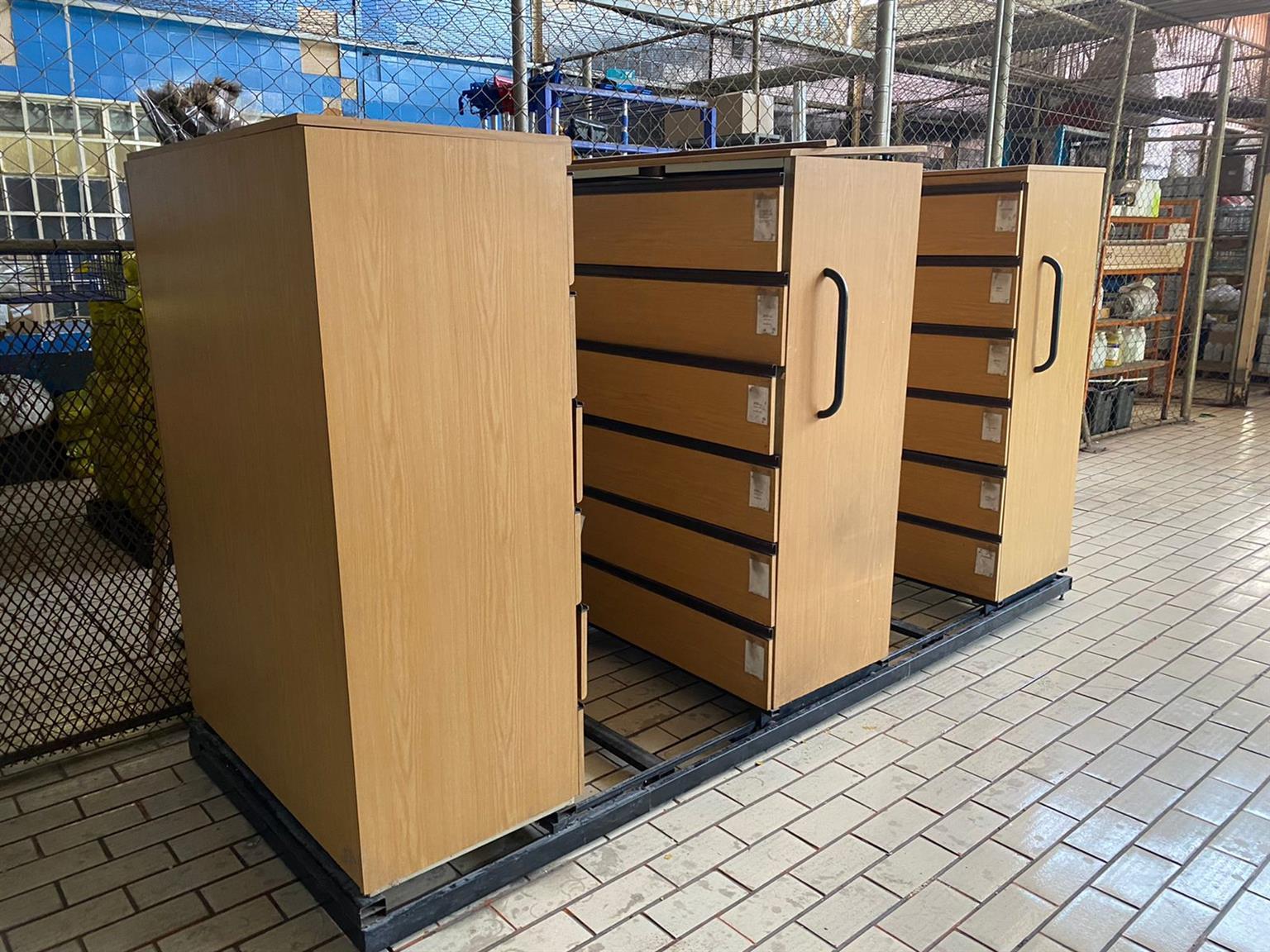 Sliding cabinets