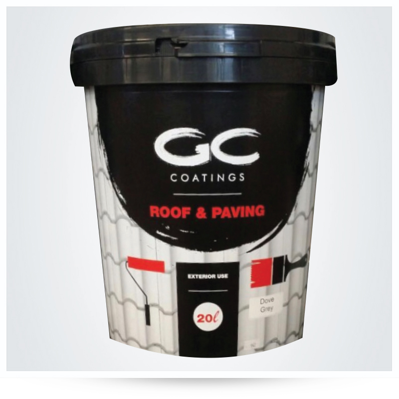 PAINT: GC COATING ROOF RED 20LT