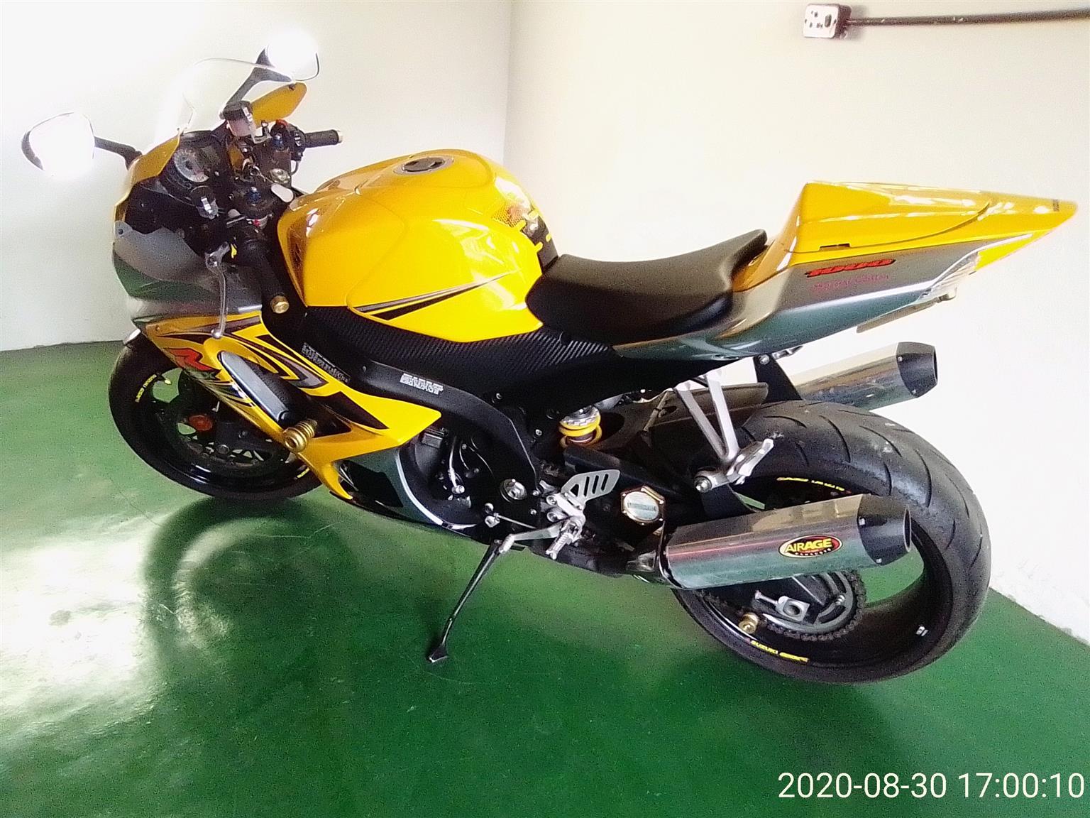 2008 Suzuki GSXR1000K8
