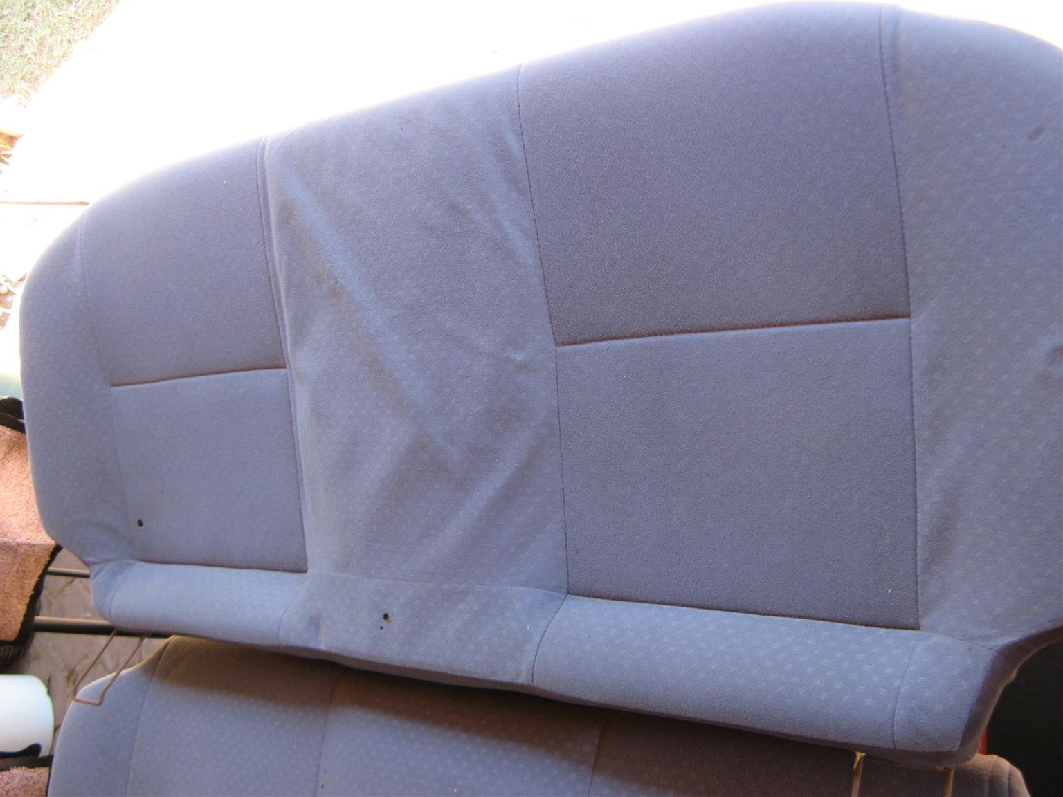 Charade set rear seats