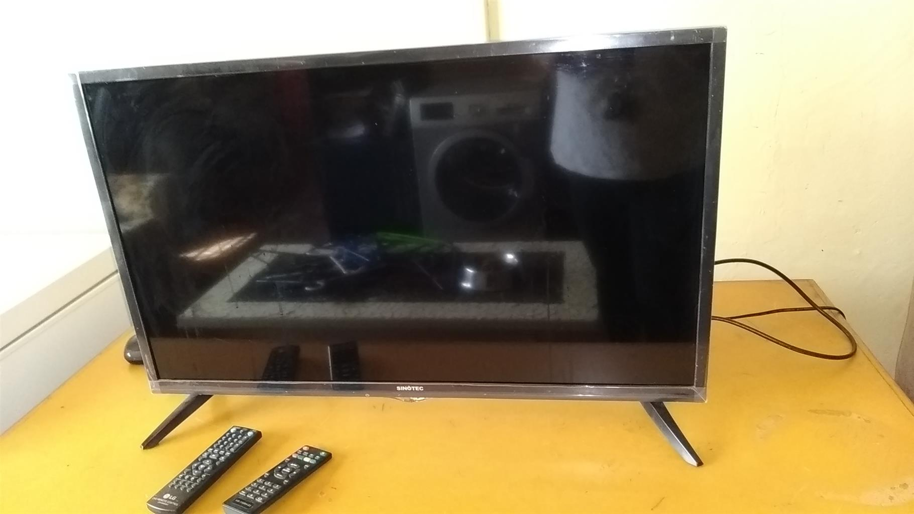 TV and DVD player