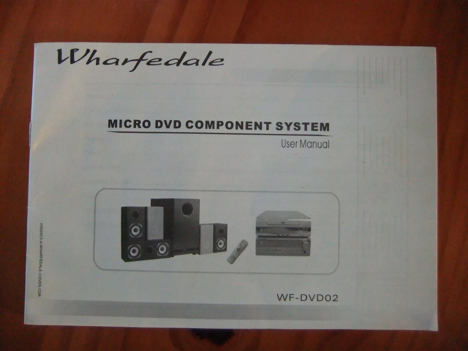 Micro DVD Component Set (6 Speakers surround sound)