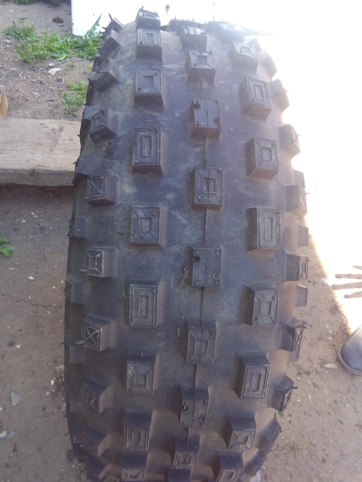 Quad bike tyre