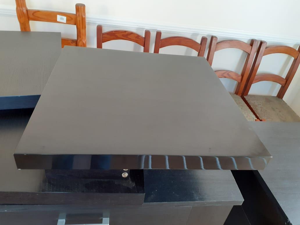 Black Swivel Table Top