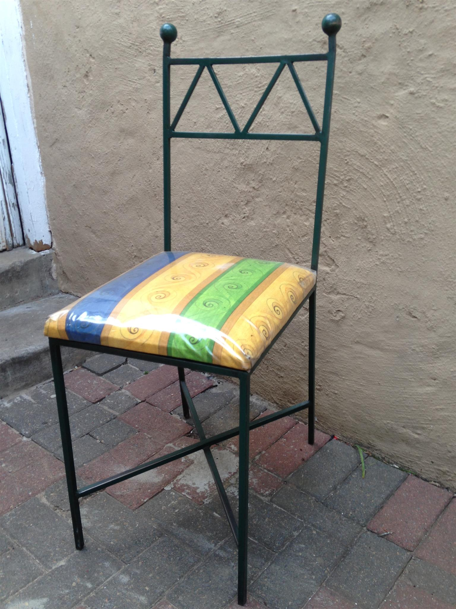 Wrought iron chairs junk mail