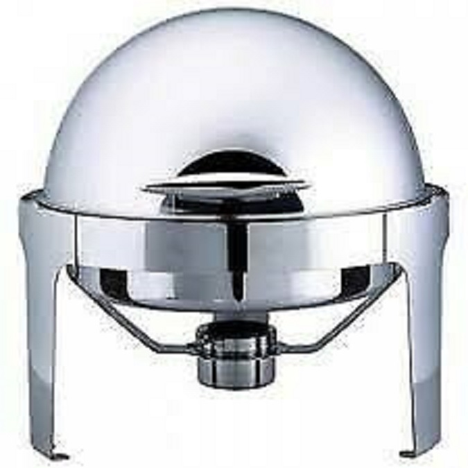 New round  Rolltop Chafting Dishes for sale. (EXCL VAT)