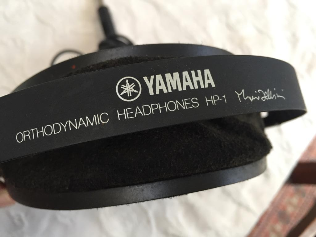Yamaha HP-1 Stereo Headphones circa 1976 - 1984 - Classic Vintage and audiophile quality