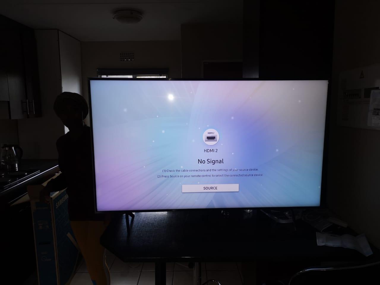 SAMSUNG QLED SMART TV FOR SALE IN WARRANTY STILL