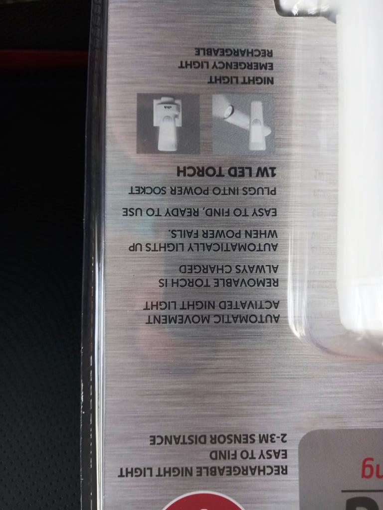 Load shedding sensor activated lamp & torch