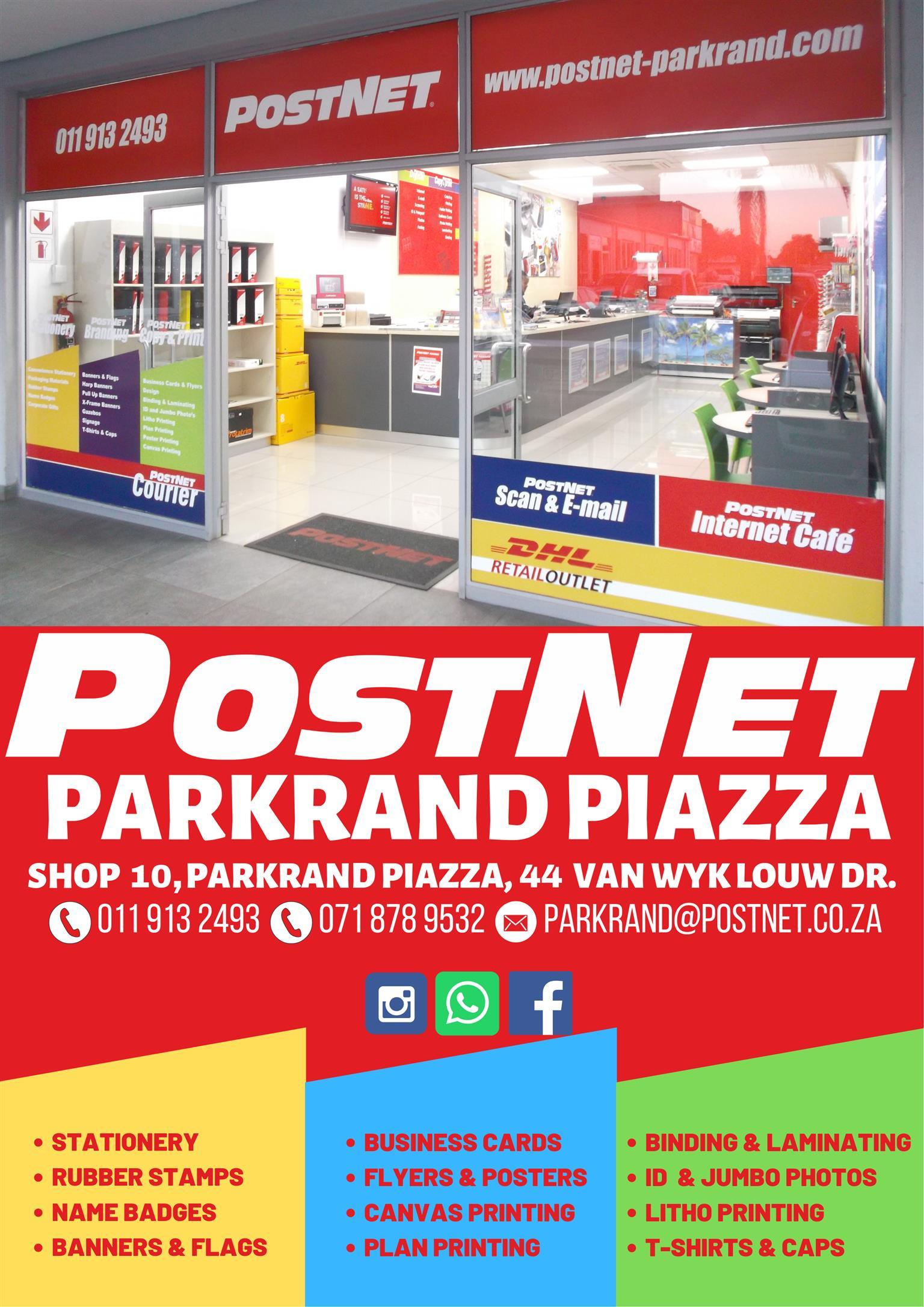 Postnet Parkrand, why go anywhere else