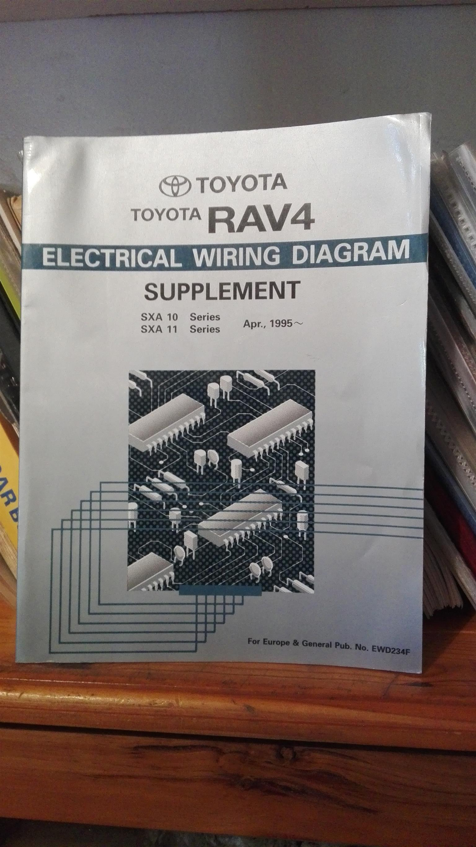 rav 4 1995 onwards electrical wiring diagram manual junk mail rh junkmail co za Toyota RAV4 Parts Diagram 2002 RAV4 Exhaust System Diagram