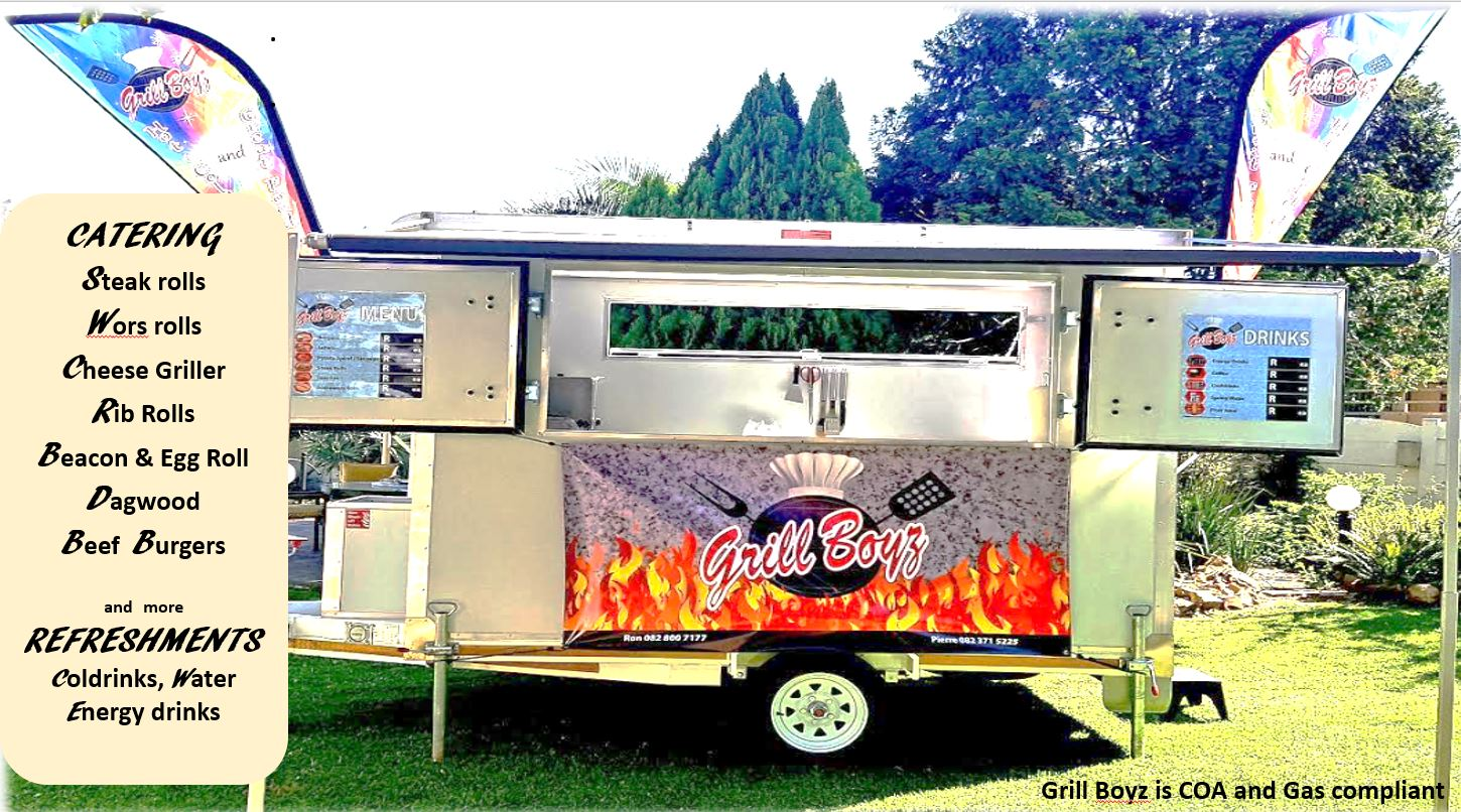 Food Trailer Business for Sale - JUST STEP IN AND TRADE