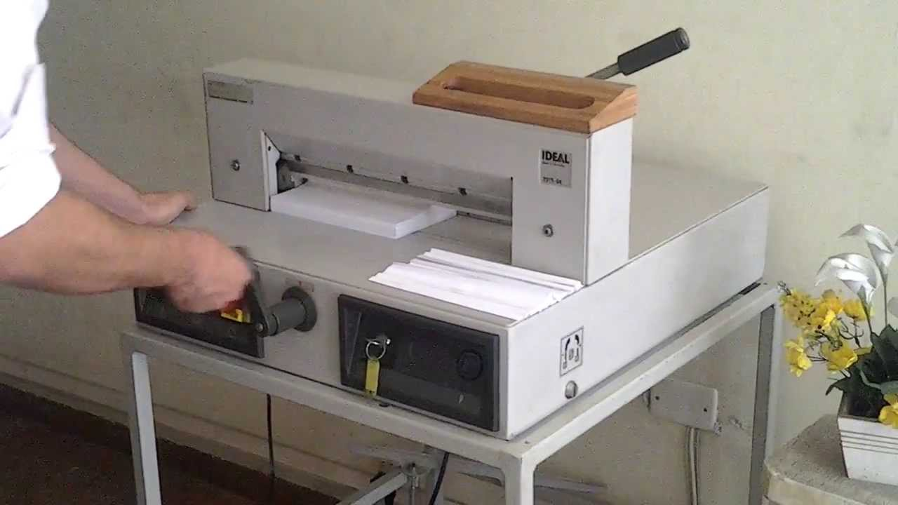 A4 Ideal Guillotine - German Made