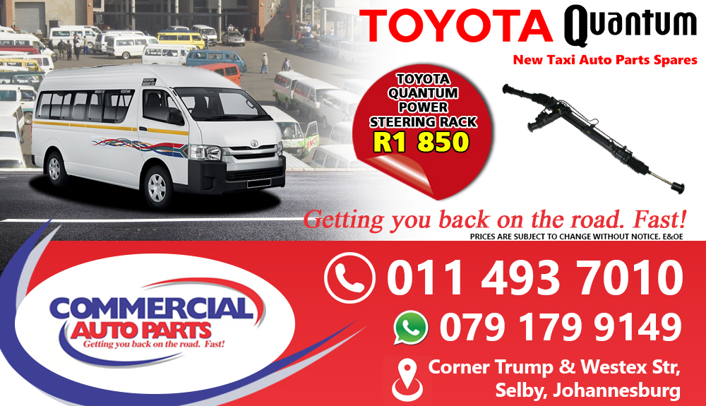 Power Steering Rack For Toyota Quantum Sesfikile For Sale.