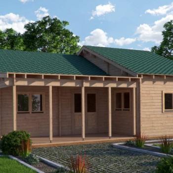 Quality log home