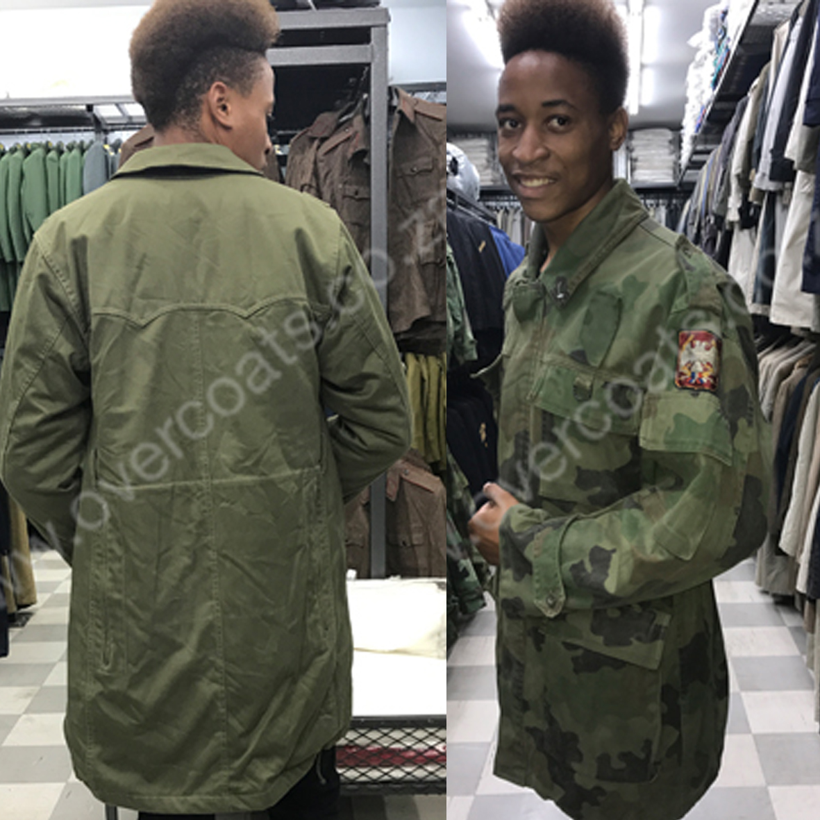 Military Surplus Coats, Parkas and accessories