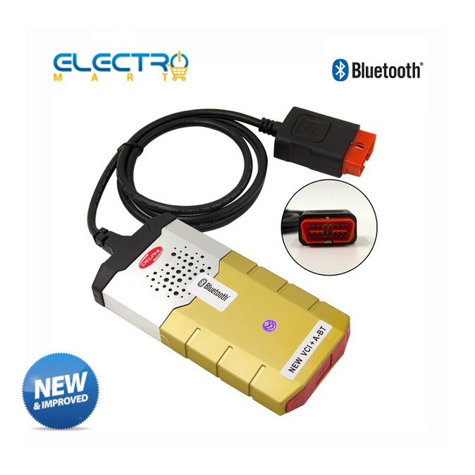 **LOCAL STOCK**Gold USB Delphi DS155e Auto Diagnostic Tools