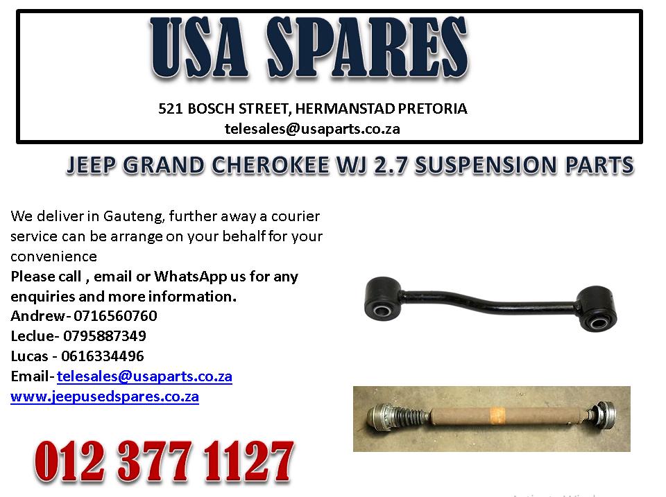 JEEP GRAND CHEROKEE WJ 2.7 SUSPENSION PARTS FOR SALE